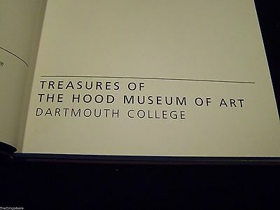 TREASURES OF THE HOOD MUSEUM OF ART DARTMOUTH COLLEGE1st EDITION 1985