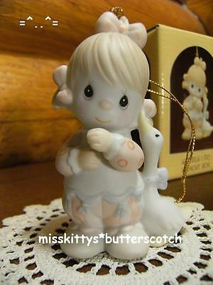 Precious Moments~ORNAMENT~112364~GIRL CLOWN w Goose~Waddle I Do Without You~ship