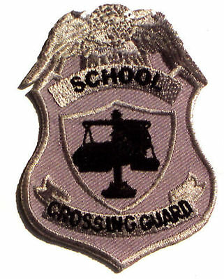 School Traffic Crossing Guard Coat Shirt Jacket Hat Uniform Badge Patch Emblem