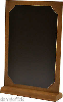 Chalkboard Blackboard Table Top Menu Set All Sizes A4 A5 A6