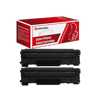 Compatible 2PK Canon 128 (3500B001AA) Black Toner Cartridge for ImageClass D530