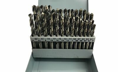 Rdgtools 10Pc Hss 2Mt Taper Shank Drills M2 Material Myford User Imperial Set