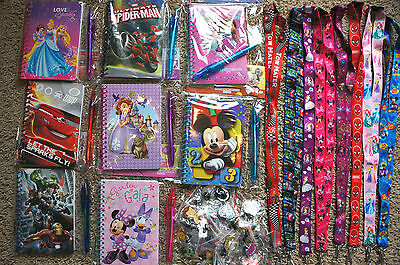 Disney World Pin Trading Lot Lanyard Starter Set With Autograph Book and Pen
