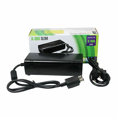 Brand New AC Adapter Power Supply Cord Charger FOR XBOX 360 Slim