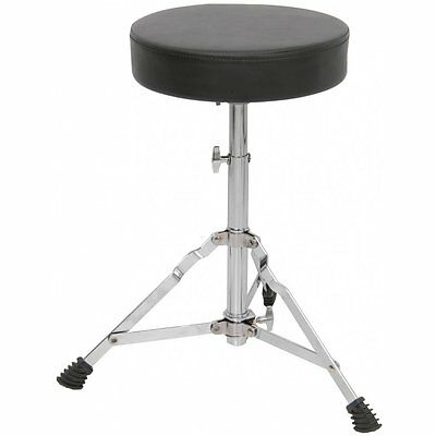 Chord Height Adjustable Padded Drum Throne Seat Stool