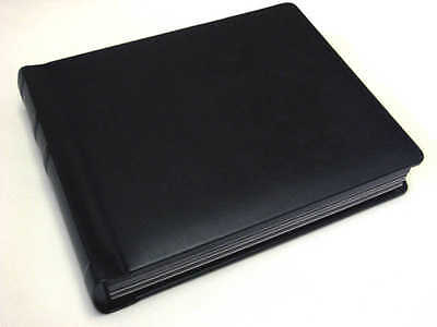 8x10 black Self Mount Wedding Photo Album - 30 Pages (Engraving Available)