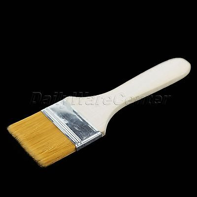 New 3CM Wooden Handle Brush Color Painting Oil Brushing Painter Supply