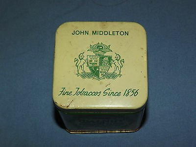 Vintage John Middleton Walnut Aromatic Blend Tobacco Tin