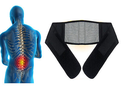 NEW MAGNETIC HEAT WAIST BELT / BRACE FOR LOWER BACK PAIN RELIEF THERAPY SUPPORT