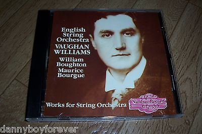 Ralph Vaughan Williams CD Orchestral Works English String Orchestra Oboe Nimbus