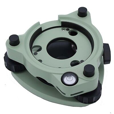 BRAND NEW Green Tribrach without optical plummet for total station / prism