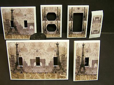 Light Switch Cover Plate Or Outlet Paris France Eiffel Tower # 25