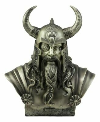 Ruler Of Asgard Chief God Odin Bust Statue Figurine Norse Mythology Woden