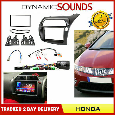 Double Din Car Stereo Full Fitting Kit For HONDA Civic Type R FN2 2006>