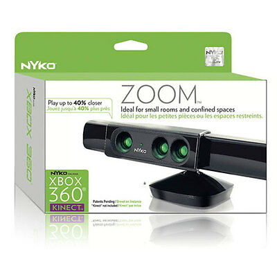NYKO  ZOOM FOR KINECT XBOX 360  *1 Game Accessory Brand* BRAND NEW