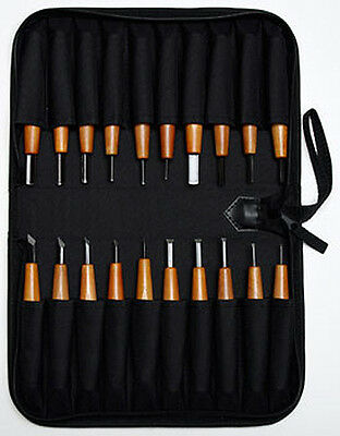 Mastercarver  MINI DETAIL 20pc Gourd Carving Set * Rc64 steel * PRO QUALITY