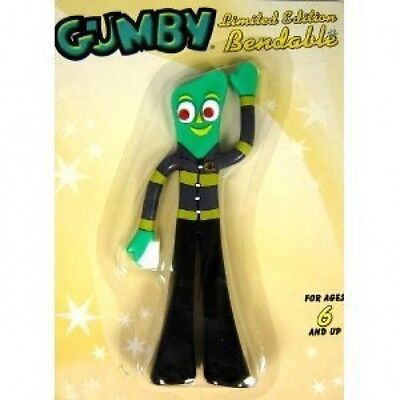 "Fireman Gumby 5"" Bendy Figure New in Package"