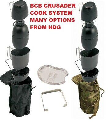 Bcb British Army Crusader Complete Cooking Stove System Camo,mtp/multicam Black