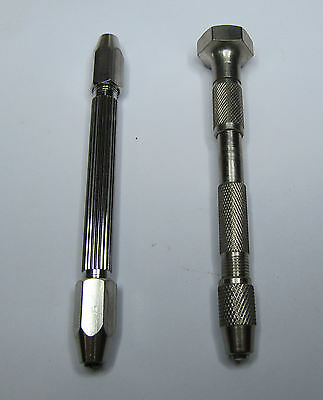 Rdgtools Pin Chuck Vice Set 2Pc Small Pin Vices Jewellery Micro Drills