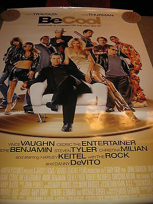 BE COOL! - Steven Tyler, Uma Thurman, Movie Poster, Pre-Owned