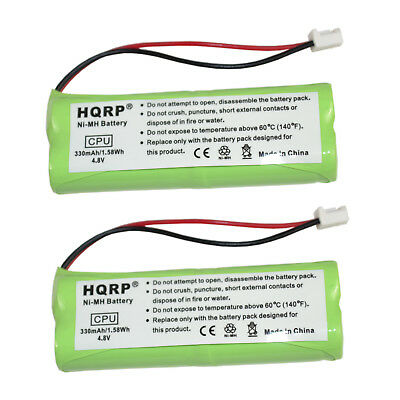 2x HQRP Battery for Dogtra 1800 Series 1800-NC 1802-NC 1803-NC 1804-NC Receiver