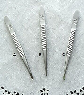 Dovo Tweezers, Solingen Germany, Fine Needlework, Embroidery, Cross Stitch Tools
