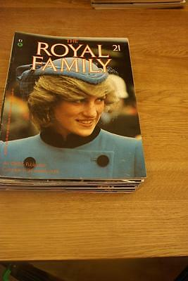 The ROYAL FAMILY.Issue 21. Earl Spencer/The Order of the Garter/Royal visits