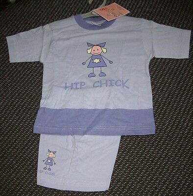 "BNWT ""David James"" Girl's Lilac Short Pyjamas 3-4 Years"