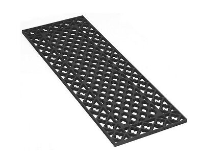 Antique Cast Iron Floor Grilles Grids Heating Covers - Cathedral Style Vents