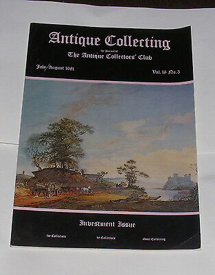 Antique Collecting July 1981 - Antique Watches/lantern Clocks