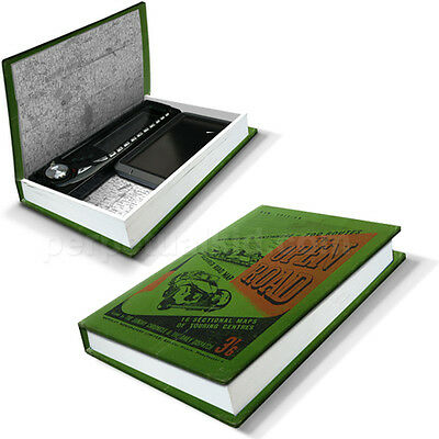 Luckies In-Car-Nito Secret Hidden Box Disguised Book Safe Car Valuables Storage