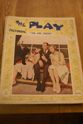 THE PLAY Pictorial.No.308. November 1st 1927. 'The Girl Friend'