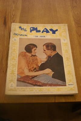 THE PLAY Pictorial.No.303. June 1st 1927. 'The Joker'