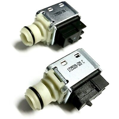 4L60E 4L65E Transmission 1-2 2-3 A & B Shift Solenoid 1993-2015 Set of 2 fits GM