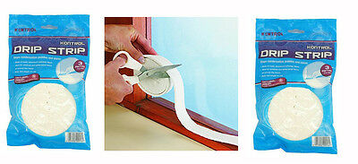 Pack of 2 x Moisture and Condensation Drip Strip Absorbers from Kontrol 6m Total