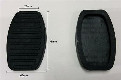 New Pair Of Foot Pedal Covers Pad Replacment Rubbers For Fiat Cars