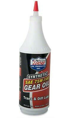 HELPS QUIETEN NOISY Gears Oil Sae 75W/140 Manual