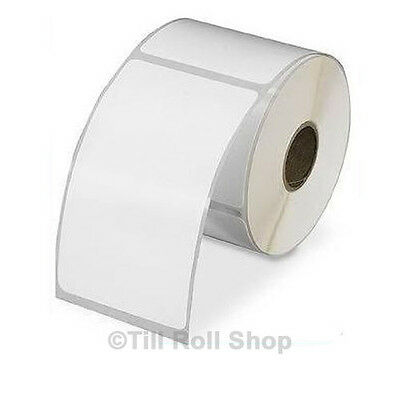 10,000 100mm x 150mm White Thermal Transfer Labels 38mm Core (100 x 150mm)