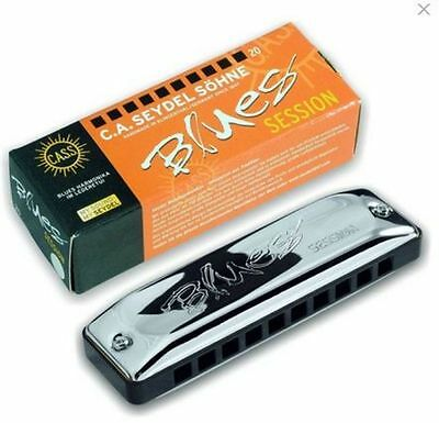 Seydel SESSION  Harmonica w/ Black Leather Case! - Pick Your Key!