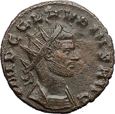 Claudius II Gothicus displays of generosity 268AD Ancient Roman Coin i30872