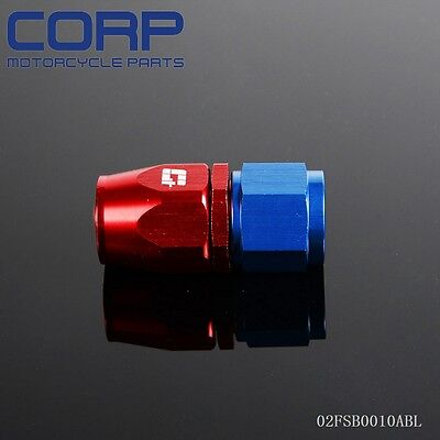 AN6  Hose End Fittings Adaptor Swivel  Straight Nitrous OIL/FUEL LINE HOSE