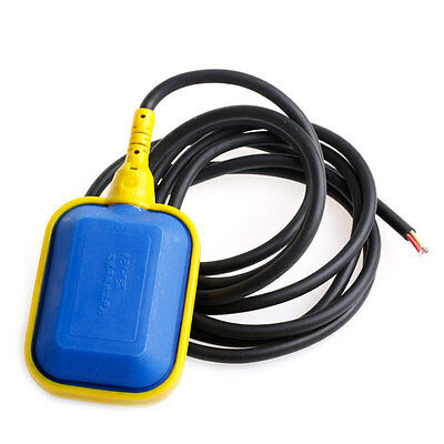 250V 2m Cable Liquid Water Level Controller Sensor Contactor Float Switch New