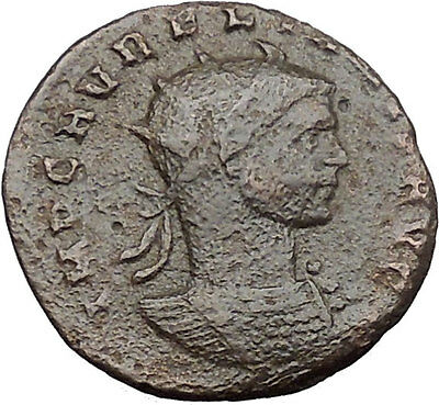 AURELIAN  270AD   Ancient Roman Coin Possibly Unpublished Woman i30955
