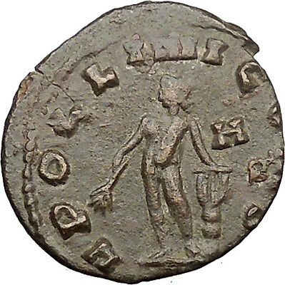 Claudius II Gothicus Ancient Roman Coin Nude Apollo Possibly Unpublished i30980