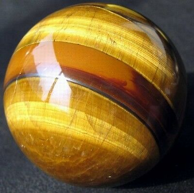 57mm Natural Gold Tiger Eye Crystal Sphere/Ball-tes57ie0384