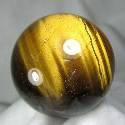 58mm Natural Gold Tiger Eye Crystal Sphere/Ball-tes58ie0178