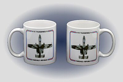 A-10 Thunderbolt II Coffee Mug - Dishwasher and Microwave Safe