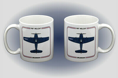 Grumman F6F Hellcat Coffee Mug - Dishwasher and Microwave Safe