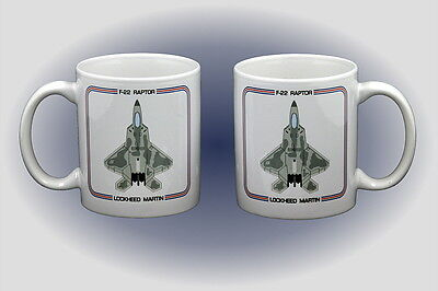 F-22 Raptor Coffee Mug - Dishwasher and Microwave Safe
