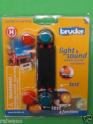 Bruder 02801 Light und Soundmodul incl. Batterie